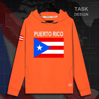 Puerto Rico Rican mens hoodie pullovers hoodies men sweatshirt streetwear clothing hip hop tracksuit nation flag new - aybendito