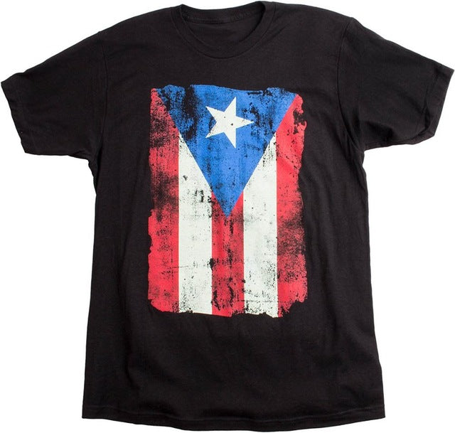 2017 Fashion 100% Cotton T Shirts Short Sleeve Hipster Tee Puerto Rico Flag | Puerto Rican Pride Unisex T-shirt