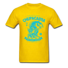 Chupacabra T-shirt .Tops Tees Men T Shirt Monster Tshirt Unique Mens Summer Clothing - aybendito