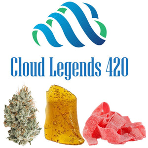 $150 Bundle -- 1/4 of Flower, 2 grams of Wax or Crumble & 800mg THC Syrup -- $30 Savings Bundles, Cloud Legends 420 - Cloud Legends 420