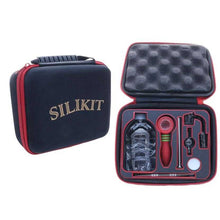 SiliKit 3 in 1 Travelers Kit  Dab Rig, Cloud Legends 420 - Cloud Legends 420