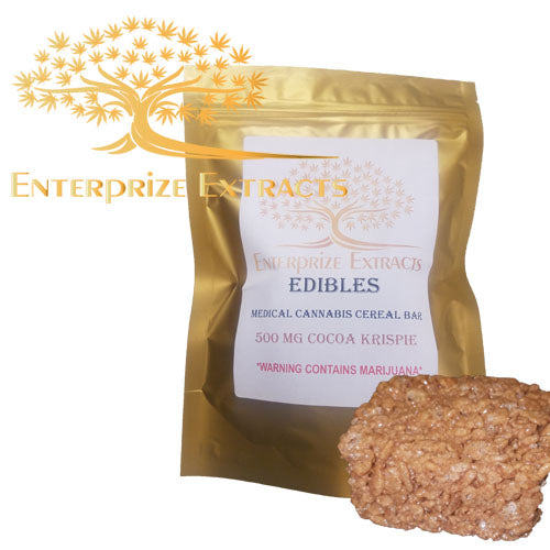 ***2x $75 SALE*** 1000mg Cocoa Krispy Treats by Enterprize Edibles Cereal, Enterprize Edibles - Cloud Legends 420