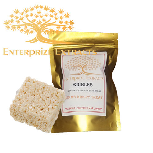 3x $50 -- 500mg Rice Krispy Treat by Enterprize Edibles Cereal, Enterprize Edibles - Cloud Legends 420