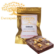 3x/$50 -- 500mg Walnut Brownie by Enterprize Edibles - Cloud Legends 420