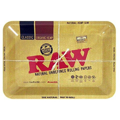 Raw Metal Rolling Tray Mini 7 x 5 Inch Gear, Amazon - Cloud Legends 420