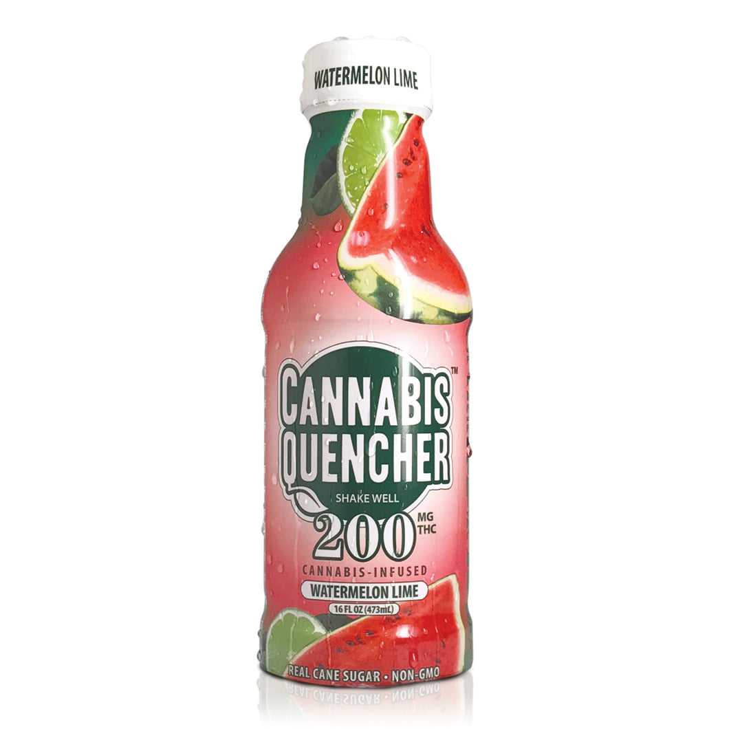 Watermelon Lime Cannabis Quencher 200mg by Venice Cookie Company - Cloud Legends 420