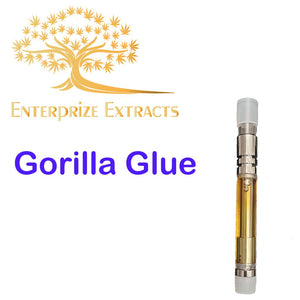 Gorilla Glue Vape Cartridge by Enterprize Extracts - Cloud Legends 420