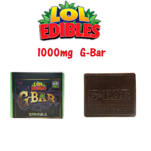 G-BAR - 1000MG by LOL Edibles - Cloud Legends 420