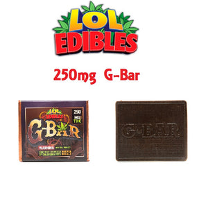 G-BAR - 250MG by LOL Edibles - Cloud Legends 420