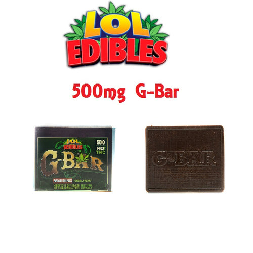 G-BAR - 500MG by LOL Edibles - Cloud Legends 420