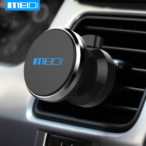 MEIDI Car Phone Holder 360 Degree Adjustable Air Vent Magnet  Mount Holder Soporte Movil  For iPhone 6 7 Mobile Car Phone Stand