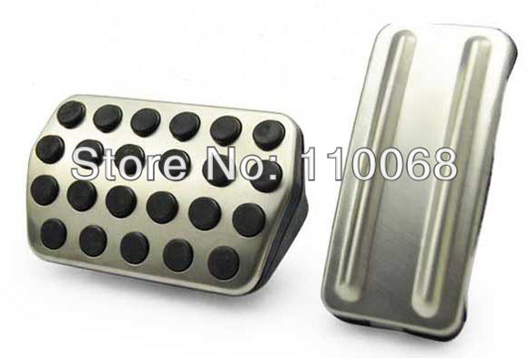 Stainless Car Pedal Cover for AT Ford Focus 2 Focus 3 RS 05-13 Year