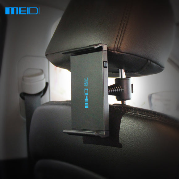 MEIDI Tablet Car Holder iPad Stand High Quality  Car Phone Holder For Seat Headrest  360 Rotation Mobile Phone Mount Holder
