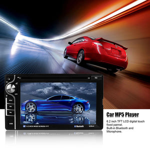 "6.2"" 2DIN HD in Dash Car CD DVD Player Touch Screen Radio Stereo Bluetooth MP3 MP4 MP5 USB SD Rearview Camera"