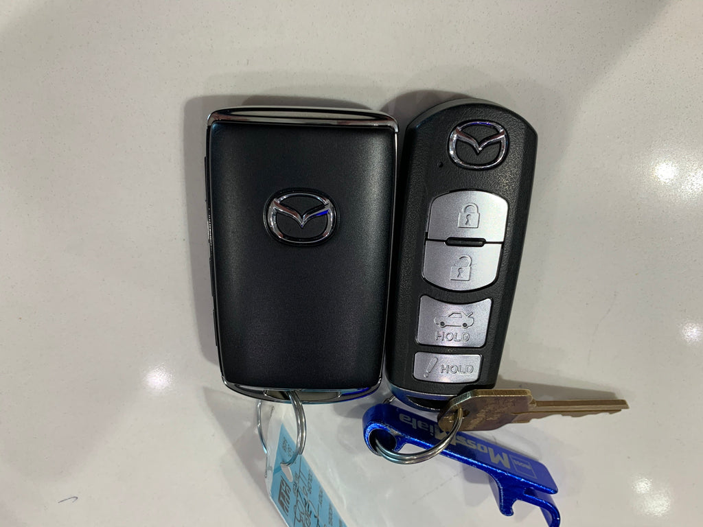 The New 2020 Smart Key Mazda Smart Key Fob & How to Access Mechanical Key (Video)