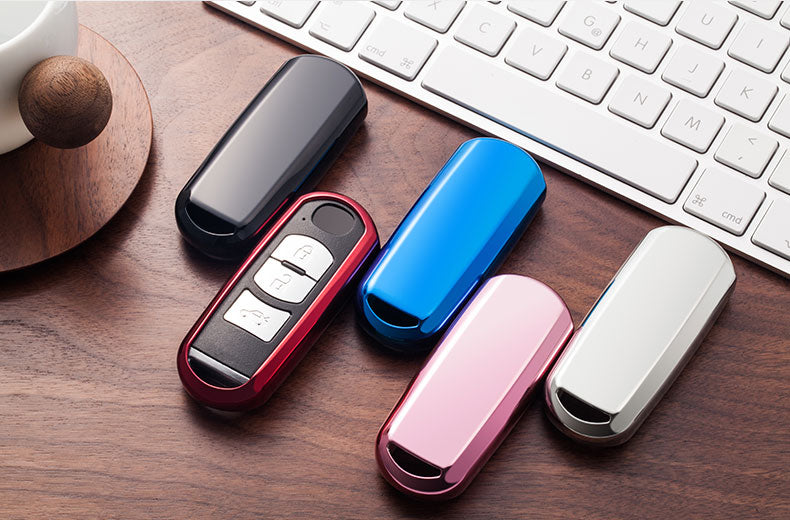 Chrome Car Key Fob Covers
