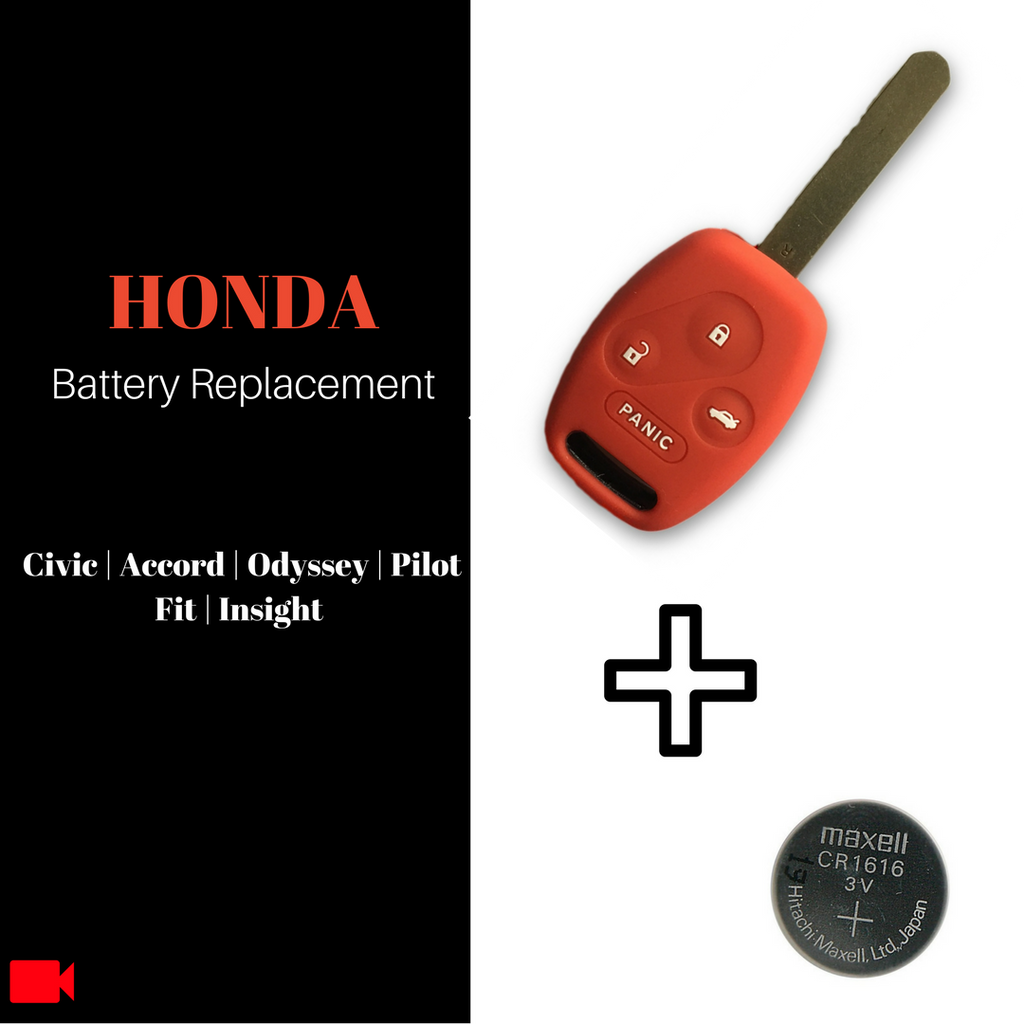 DIY: How to Replace Honda Key Fob CR1616 Battery on Accord