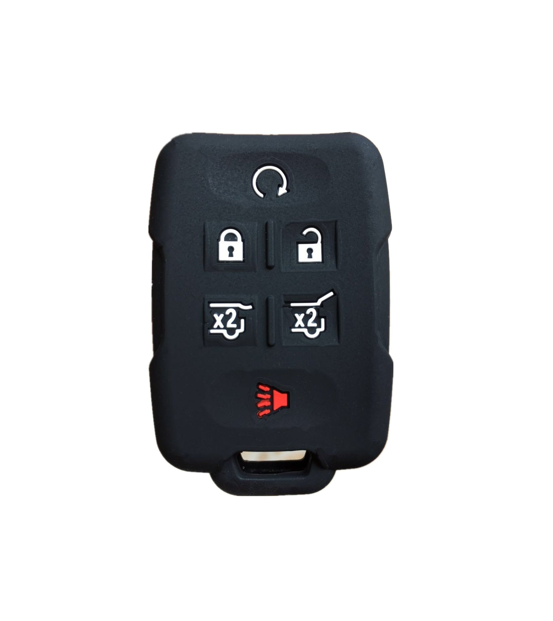 Chevrolet GMC 4 5 6 Button Smart Key Fob Remote Silicone Rubber Protective Cover Skin