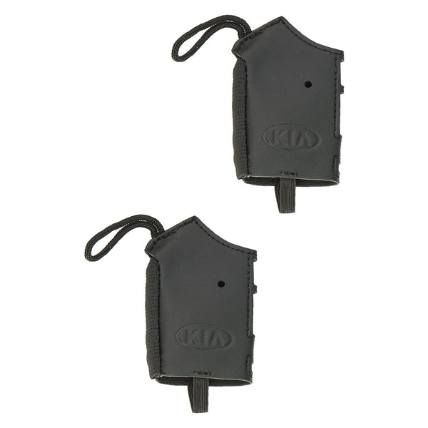 Smart Key Fob Protector Glove - Pair Black for 2018 Kia Stinger (Pair of 2)