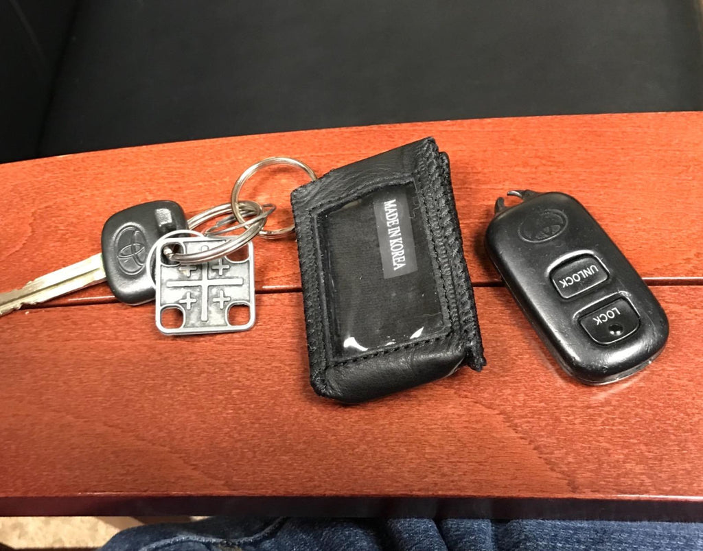 Car Key Fob Cover for Nissan PU Leather Case