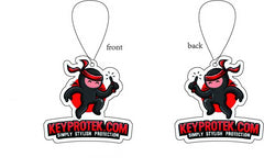 KeyProtek Air Freshener (3/6 Pack) (Ships to USA only)