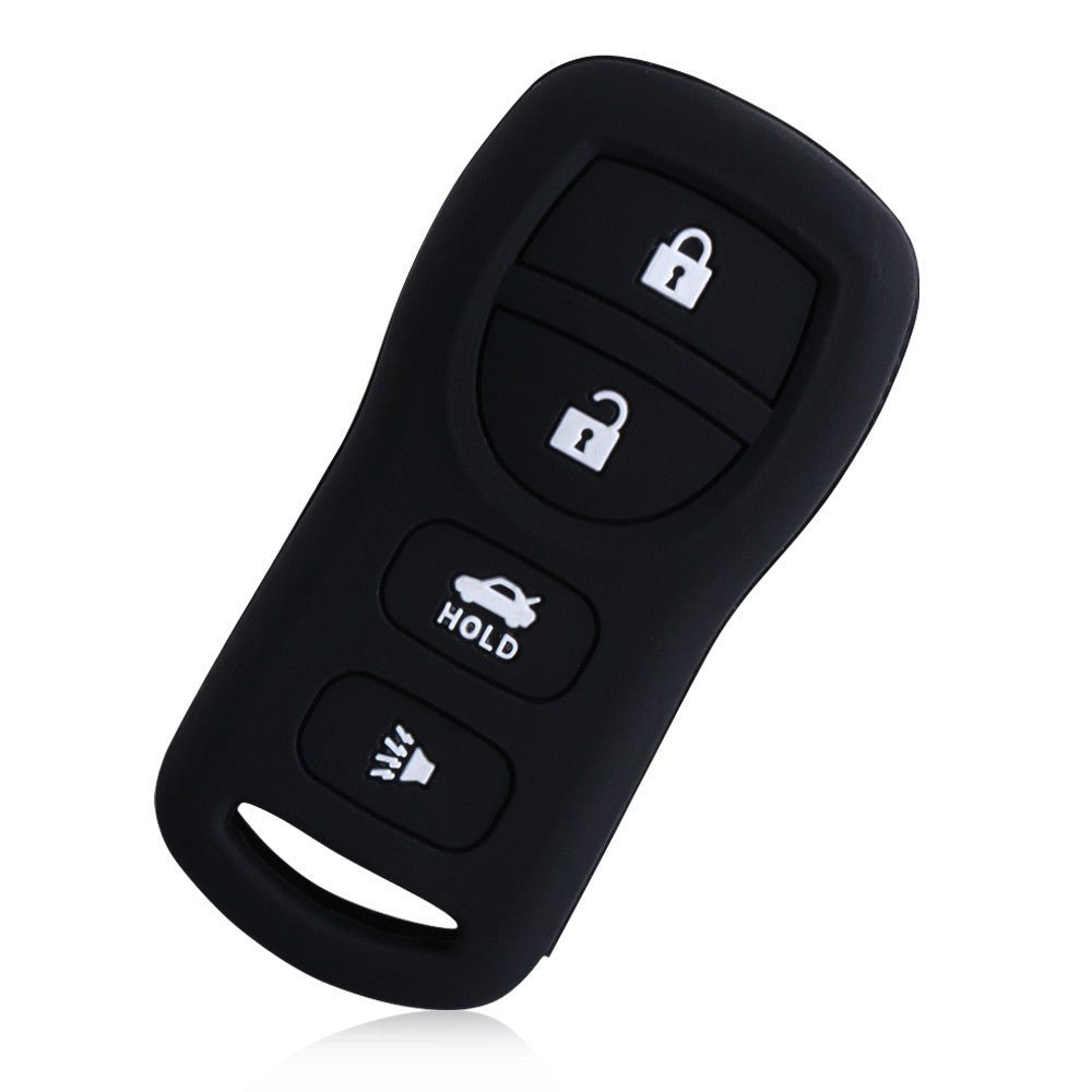 Silicone Rubber 4 Button Key Fob Remote Cover Case For Infiniti & Nissan Armada Sentra 350Z Altima Maxima Versa