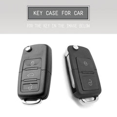 TPU CAR 'Flip' KEY FOB REMOTE COVER CASE FOR VW VOLKSWAGEN SKODA Tiguan Beetle EOS Passat