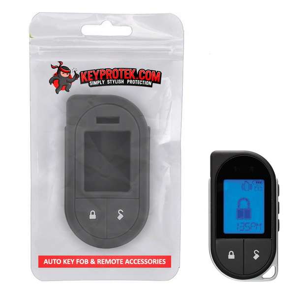 KeyProtek Silicone Protective Cover Skin for Viper LCD Remote Start 7351V, 7752V & 7756V  [SKU: VIPS2A] (✈️Now Ships Internationally) 10+ Colors