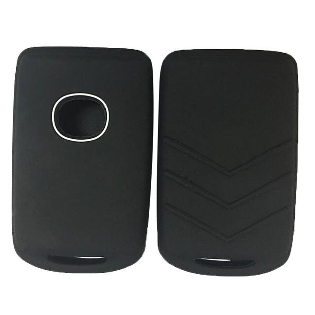 Silicone Protective Rubber Car Smart Key Fob Remote Cover Case Skin Jacket Fit for for Mazda