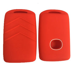 Silicone  3/4 Button Protective Rubber Car Smart Key Fob Remote Cover Case Skin Jacket Fit for for Mazda