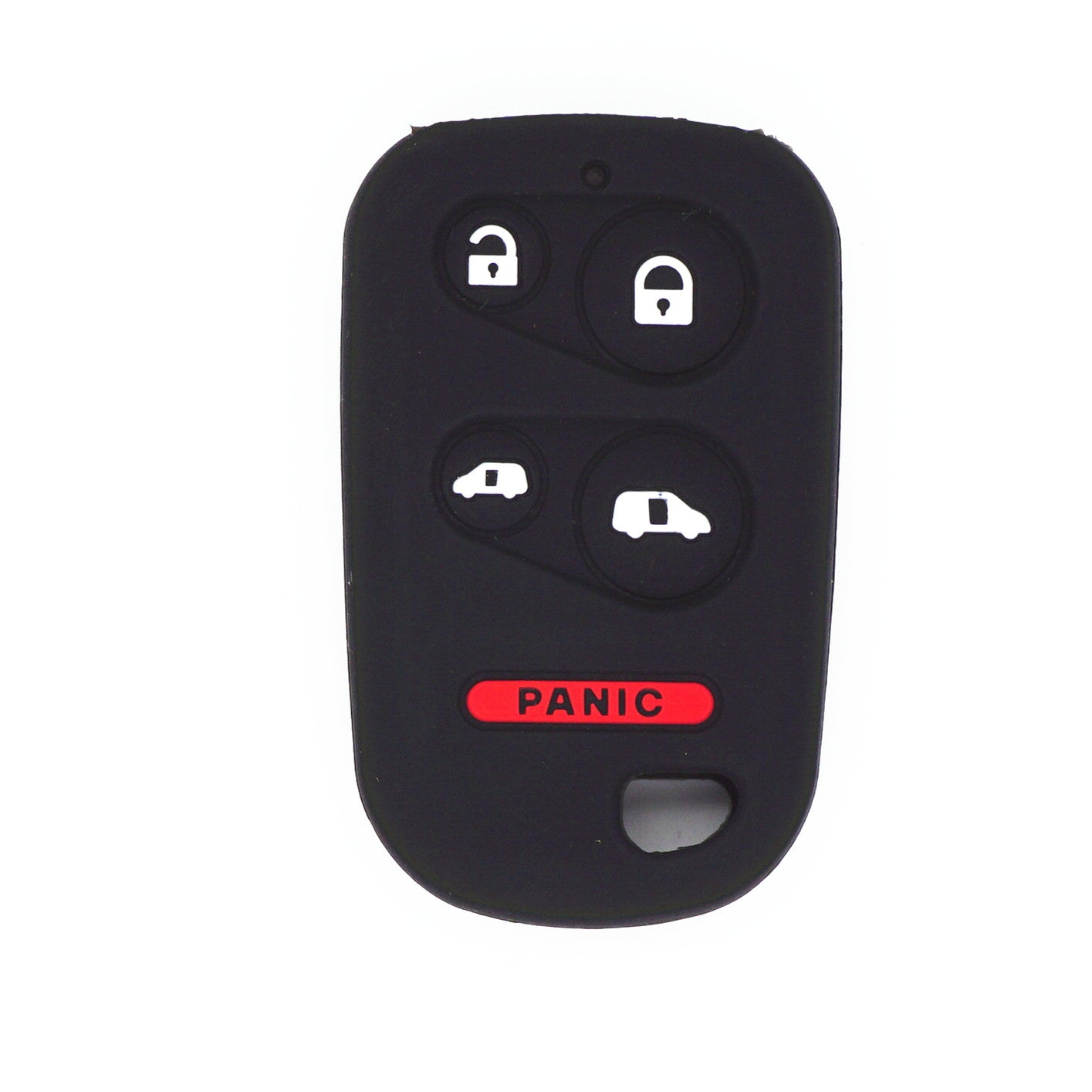 Silicone Protective Rubber 5 Button Car Key Fob Remote Case Cover Holder For HONDA ODYSSEY