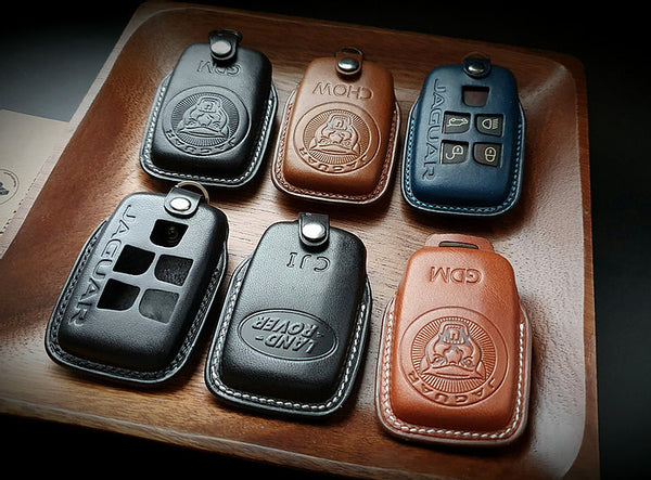 ESSEN - Leather Key Fob Case for Land Rover Range Rover & Jaguar