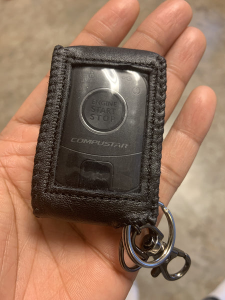 KeyProtek Leather Protective Pouch for 'Compustar Pro R5' Companion Remote Start (Ships to USA Only)