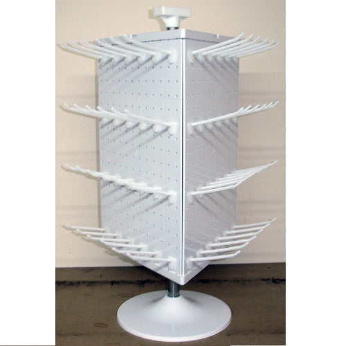 3 Sided Revolving Counter Top Display Stand (with Hooks)
