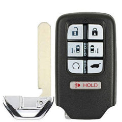 Silicone 7 Button Protective Rubber Keyless Entry Smart Key Fob Cover Case Jacket Skin for Honda Odyssey
