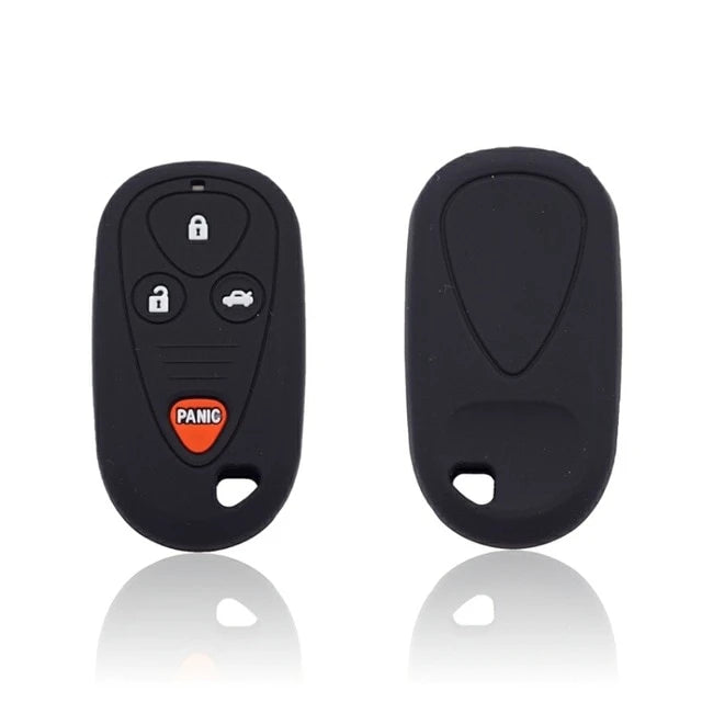 Silicone Rubber Remote Key Fob Cover Case Skin Jacket Fit for Acura RL CL TL 2002-2009