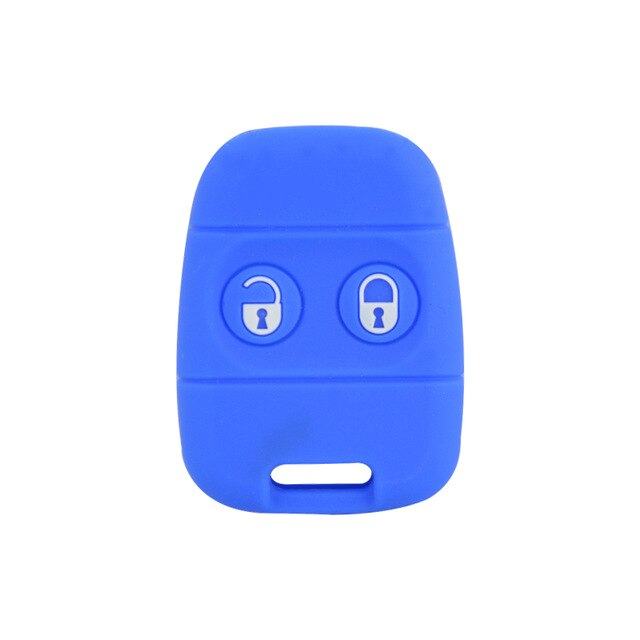 Silicone Protective 2 Button Car Key Fob Clicker Case Remote Cover Case Skin Jacket ForLand Rover Freelander, Discovery 90 / 110