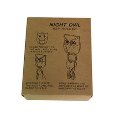 Night Owl Wall Mounted with Magnetic Key Holder Hanger