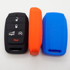 Silicone 5 Button Rubber Protective Car Smart Key Fob Remote Cover for Dodge Ram 1500 (2019 and newer)