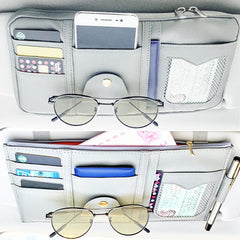 Car Sun Visor Organizer, Auto Interior Accessories Organizer
