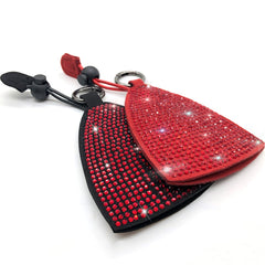 Universal Rhinestone Diamond Bling Car Key Fob Holder Cover Case Accessories Holder Keyring