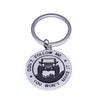 "Key Chain for Jeep Enthusiasts - ""Don't Follow Me You Won't Make It"" Keyring"