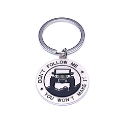 Key Chain for Jeep Enthusiasts -