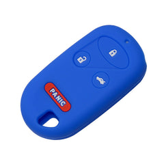 Silicone 4 Button Key Fob Remote Cover Case Jacket For Honda Civic CRV Acura Integra