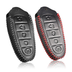 Ford SMART KEY REMOTE LEATHER PROTECTIVE CASE COVER BAG GLOVE JACKET POUCH for Edge Escape Explorer