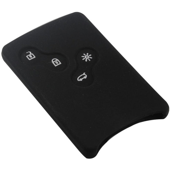 Silicone 4 Button Key Fob Remote Cover Case Jacket for Renault Clio Logan Megane 2 3 Koleos Scenic