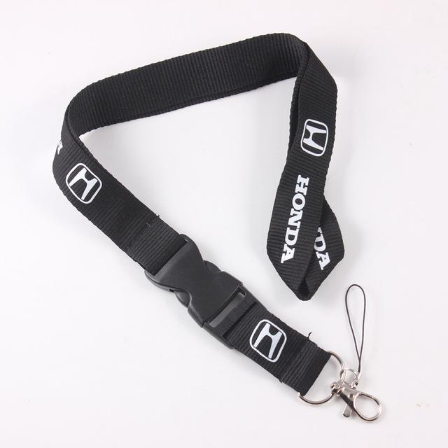 Honda 20 Lanyard Neck Strap Key Ring Badge Holder Key Chain With Buckle For Accord Civic CRV HRV (Ships to USA Only)