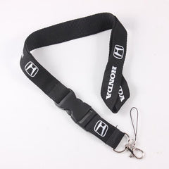 Honda 20 Lanyard Neck Strap Key Ring Badge Holder Key Chain With Buckle For Accord Civic CRV HRV