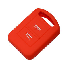 Silicone 2 Button Key Case Skin Jacket Cover For Vauxhall Opel Corsa Agila Meriva