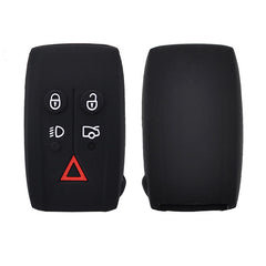 Silicone 5 Button Car Remote Key Fob Remote Cover Case Skin Jacket For Jaguar XK XF XJ8 XK8 XRR